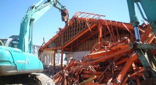 ビル家屋解体事業のイメージ
